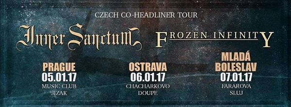 Report: Inner Sanctum a Frozen Infinity v Ostravě: I koncert pro čtyři fanoušky může být super