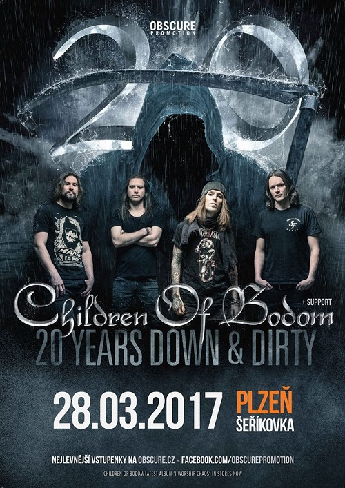 Report: Children of Bodom v Plzni