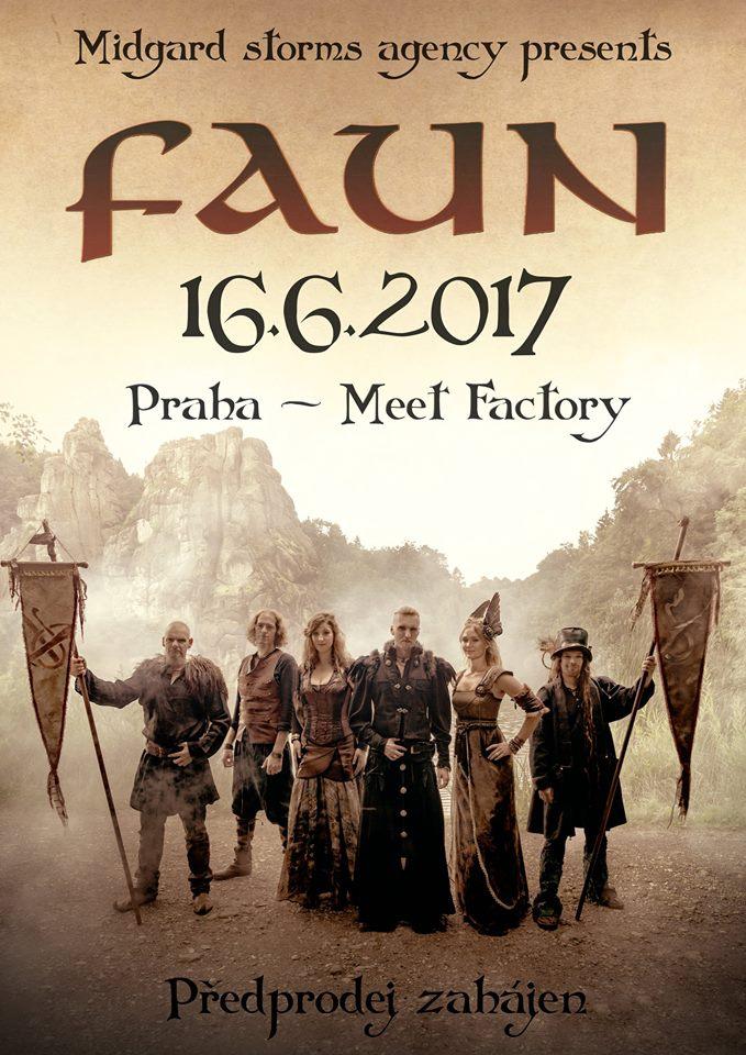 Faun v Praze!