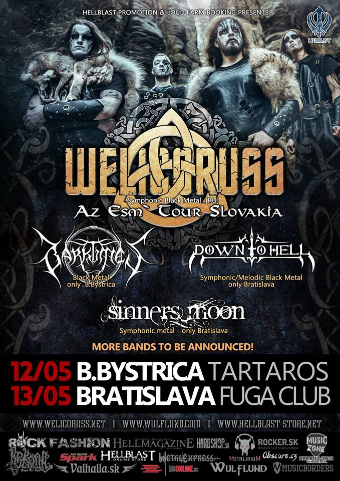 Welicoruss – Slovenské tour