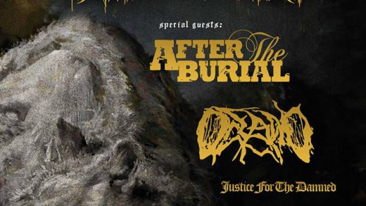 Report: Thy Art Is Murder, After The Burial, Oceano a Justice For The Damned na Nové Chmelnici