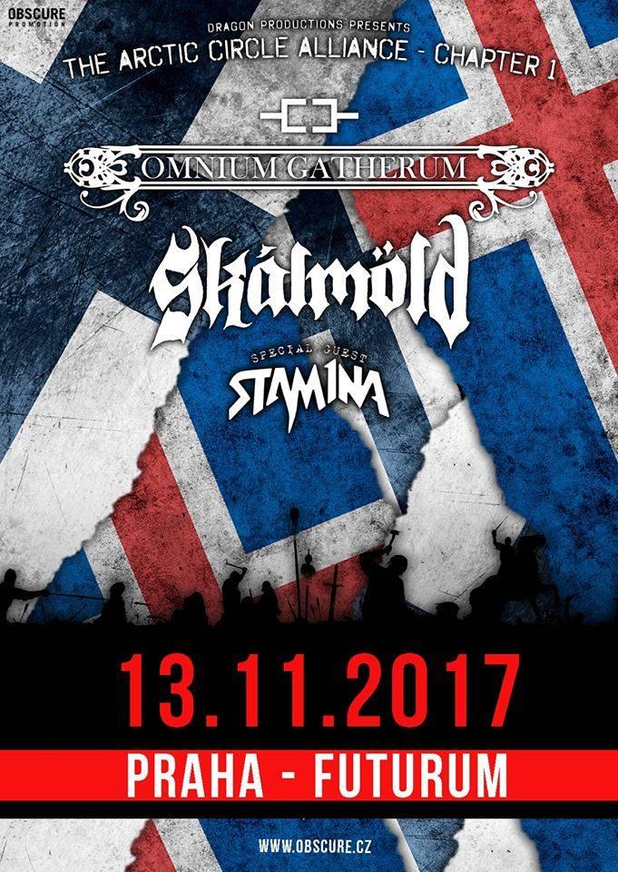 Report: Skálmöld, Omnium Gatherum a Stam1na v Praze