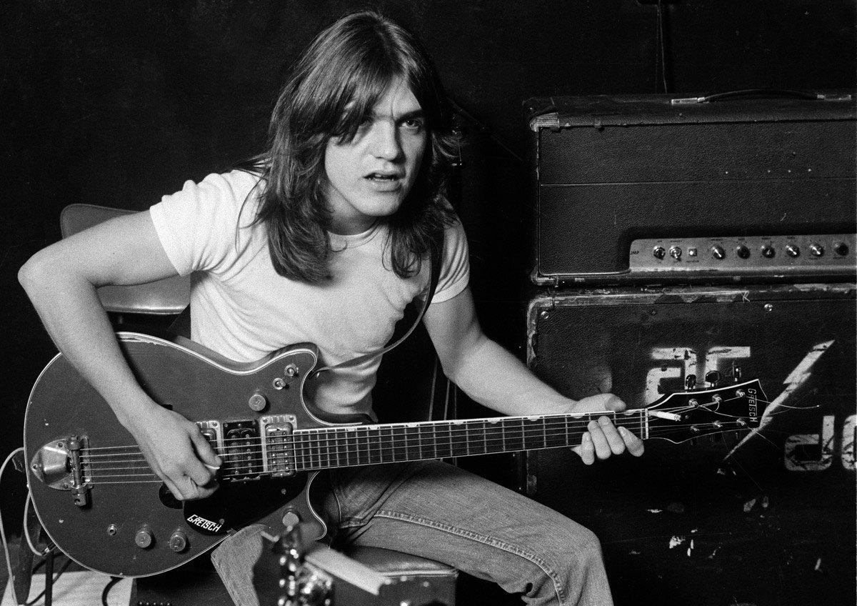 Zemřel Malcolm Young z AC/DC