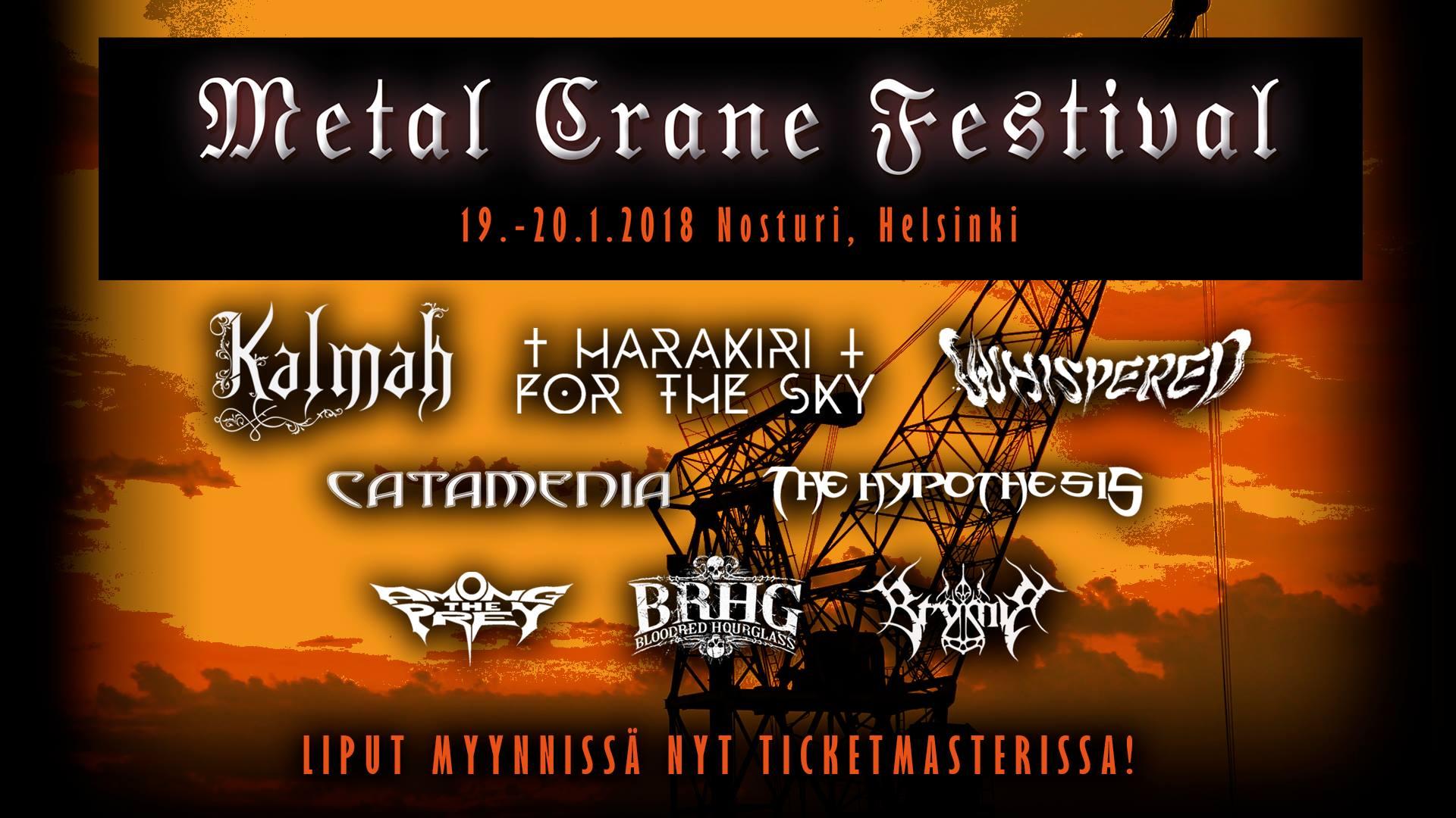 Metal Crane Festival report