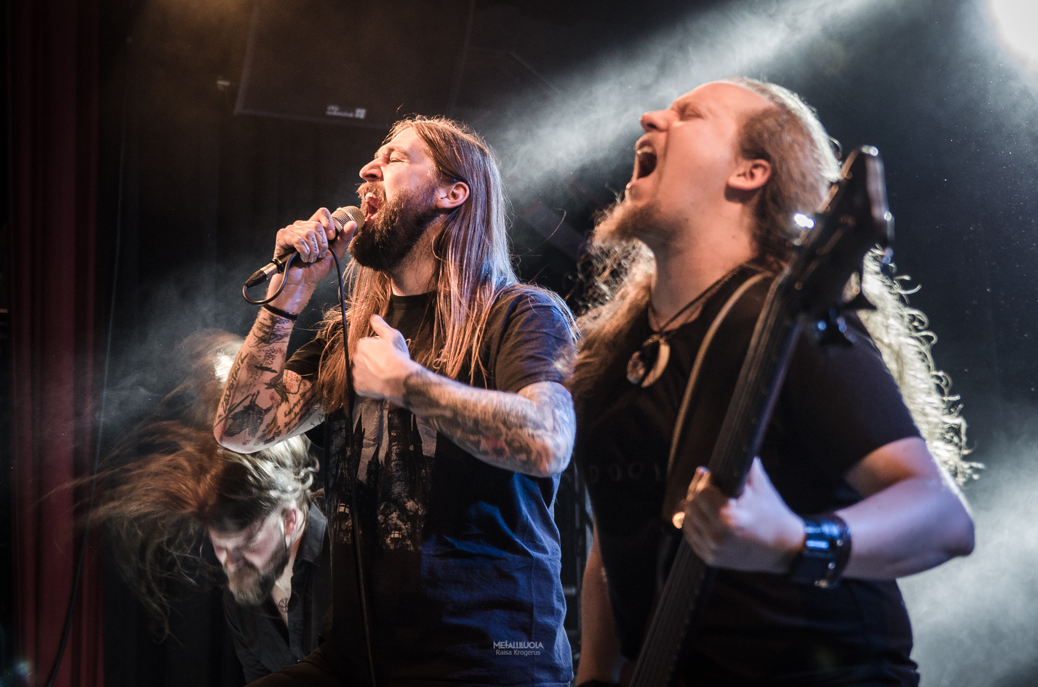 Harakiri For The Sky on stage in Metal Crane 2018, Helsinki