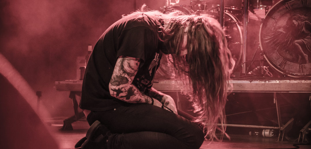 Harakiri For The Sky on stage in Metal Crane 2018, Helsinki