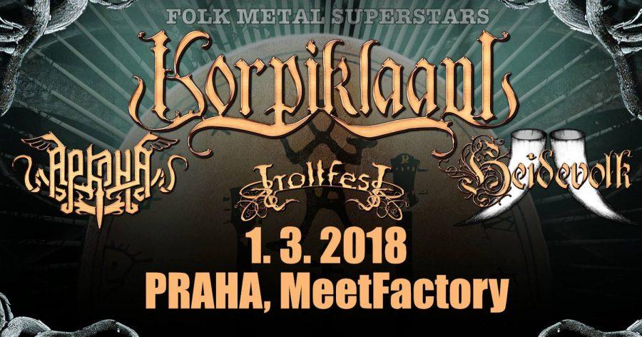 Report: Jeden večer, jeden folk metal, čtyři různá pojetí