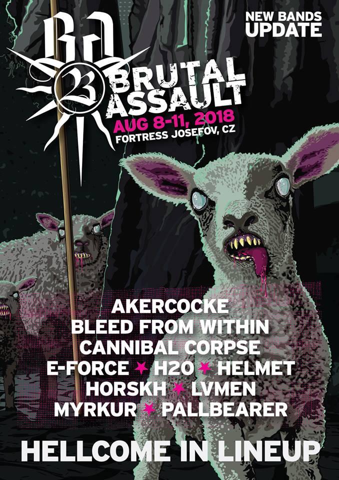 Dalších 10 kapel potvrzených na Brutal Assault