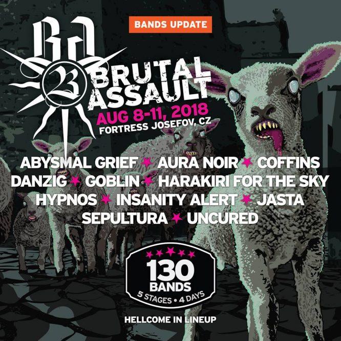 Na Brutal Assault Danzig, Sepultura a další