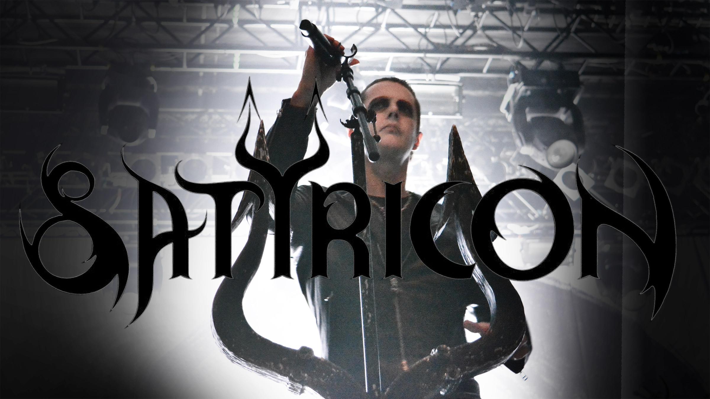 Satyricon – Gentlemen Black Metal live