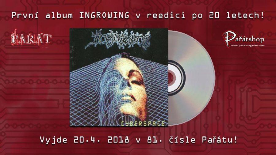 V dubnovém Pařátu bude reedice prvního alba Ingrowing