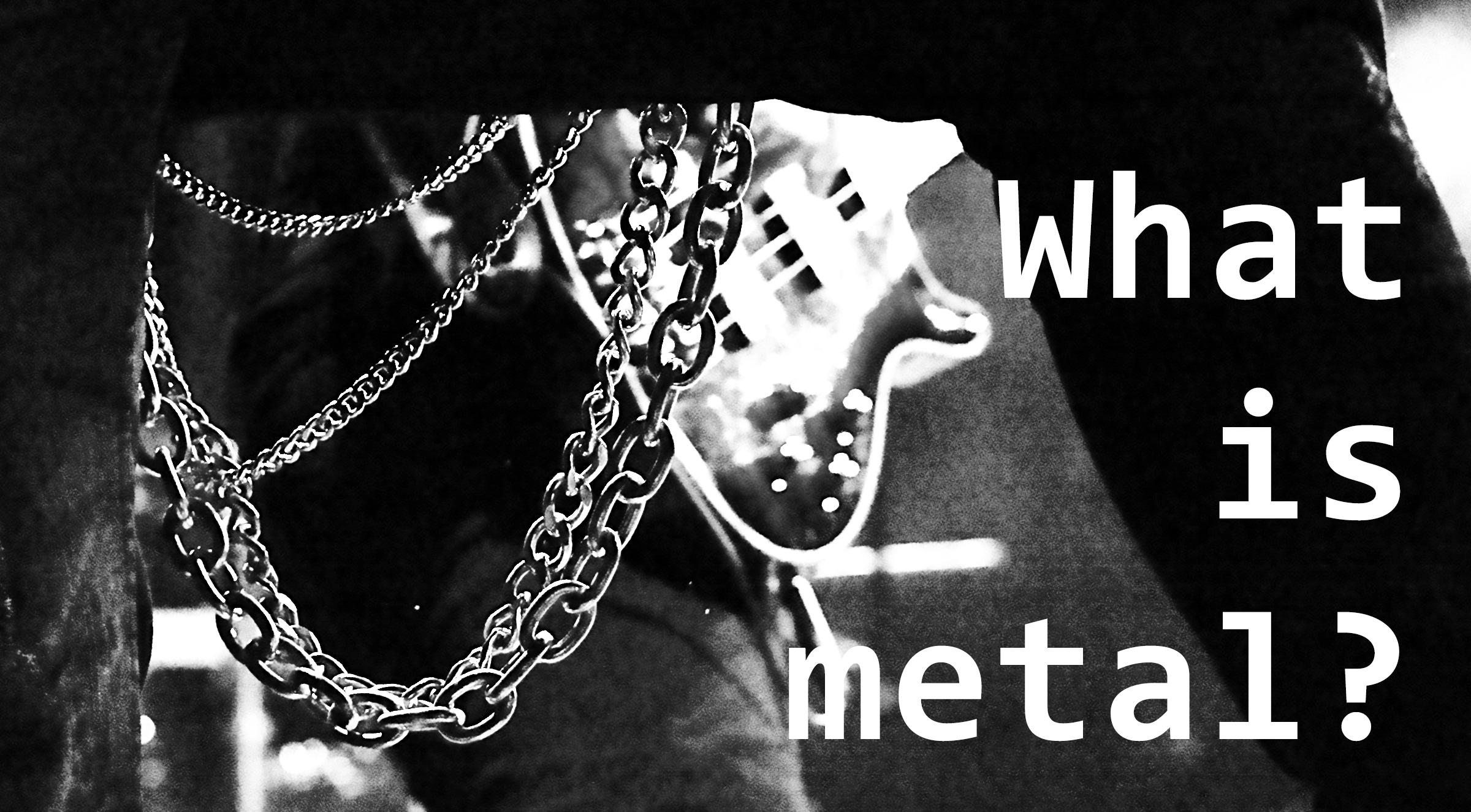 What is metal?