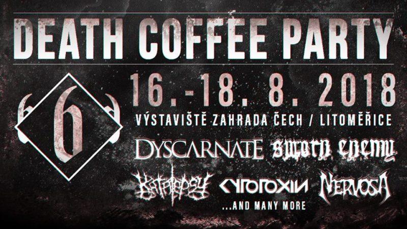 Dubnové novinky z Death Coffee Party