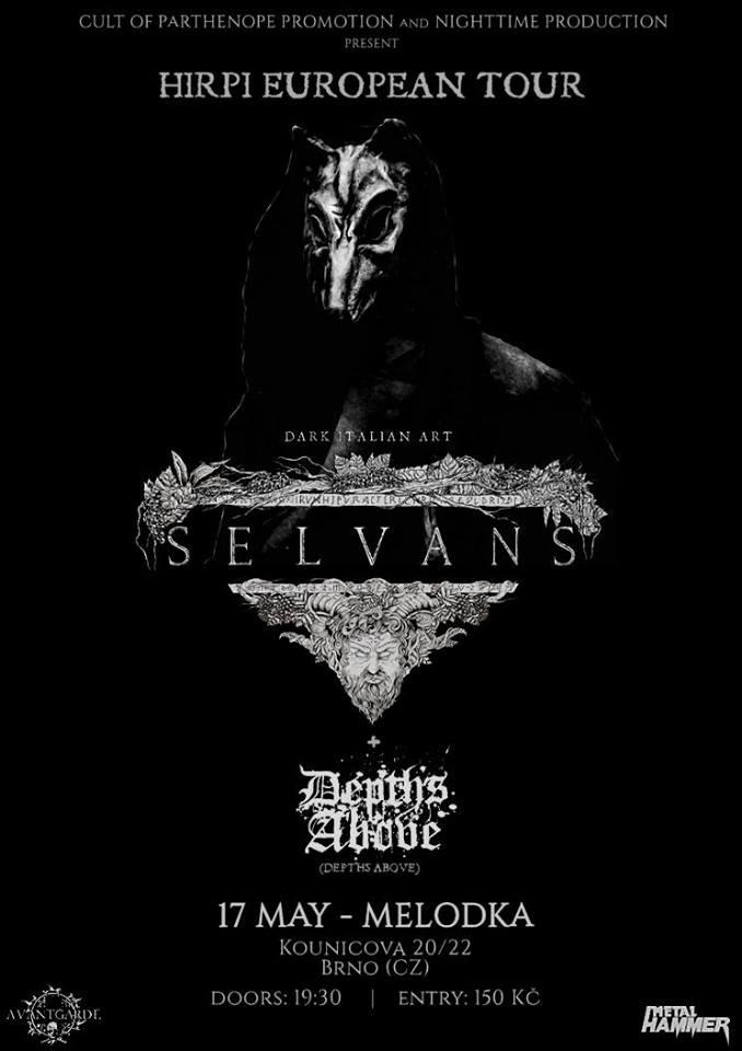 Report: Selvans potěšili svým epickým rozmáchlým a elegantním black metalem