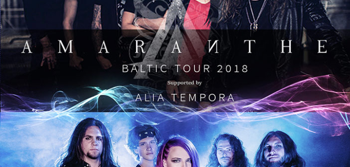 AMARANTHE baltic tour