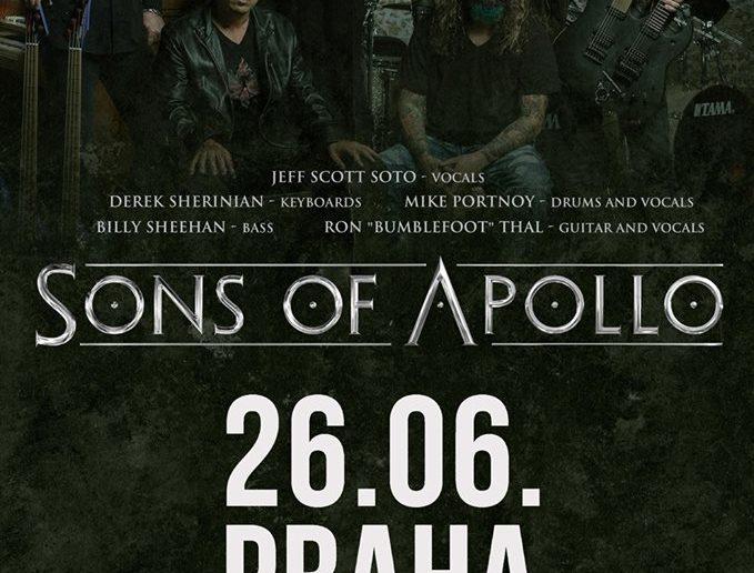 Sons of Apollo v Praze