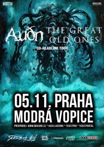The Great Old Oes (FRA) + AUÐN (IS) v Praze