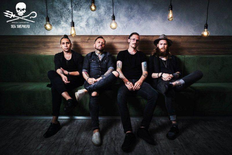 DAERRWIN jsou další českou kapelou Artists for Sea Shepherd!