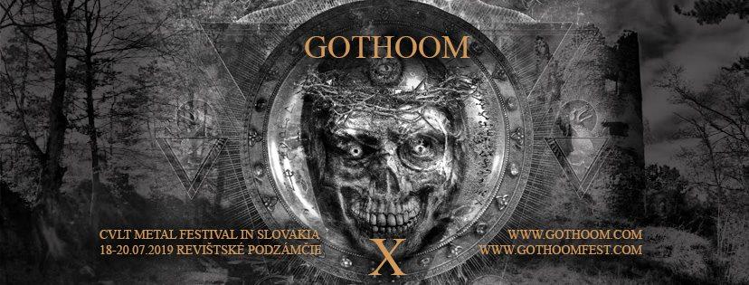 GOTHOOM 2019 – Nové kapely