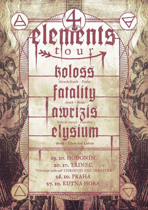 4 Elements tour 2018