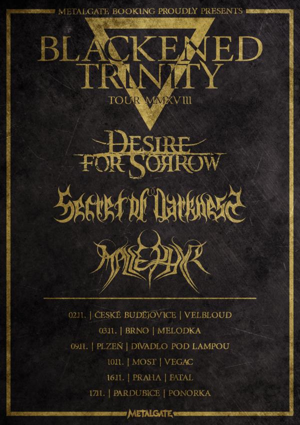 Listopadové turné pod taktovkou MetalGate bude benefiční