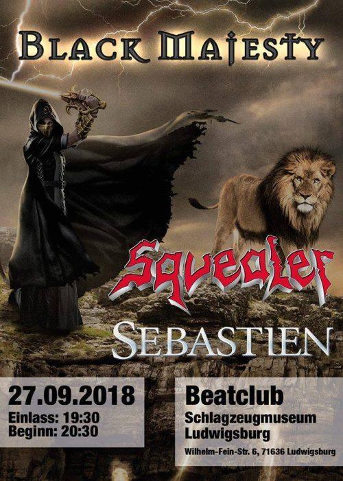 Česká kapela Sebastien vystoupí koncem září v Německu!