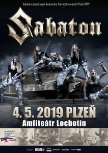 Sabaton zahrají na Slavnostech svobody v Plzni