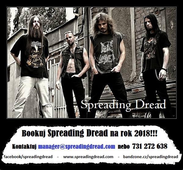 Poslední album, poslední klip, poslední koncerty – éra Spreading Dread se chýlí ke konci