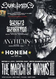 The March Of Worms III – metalový koncert v Poličce