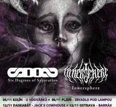 Six Degrees of Separation a Innersphere společně na tour