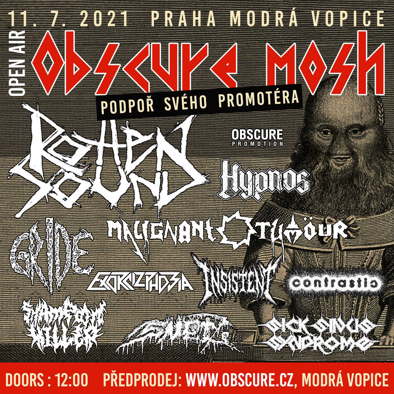 obscure mosh 2021